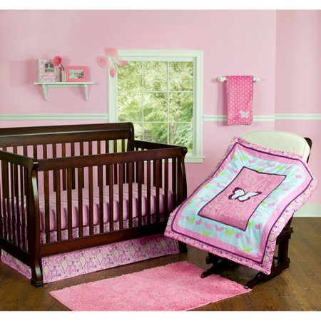 Butterfly Crib Bedding Walmart