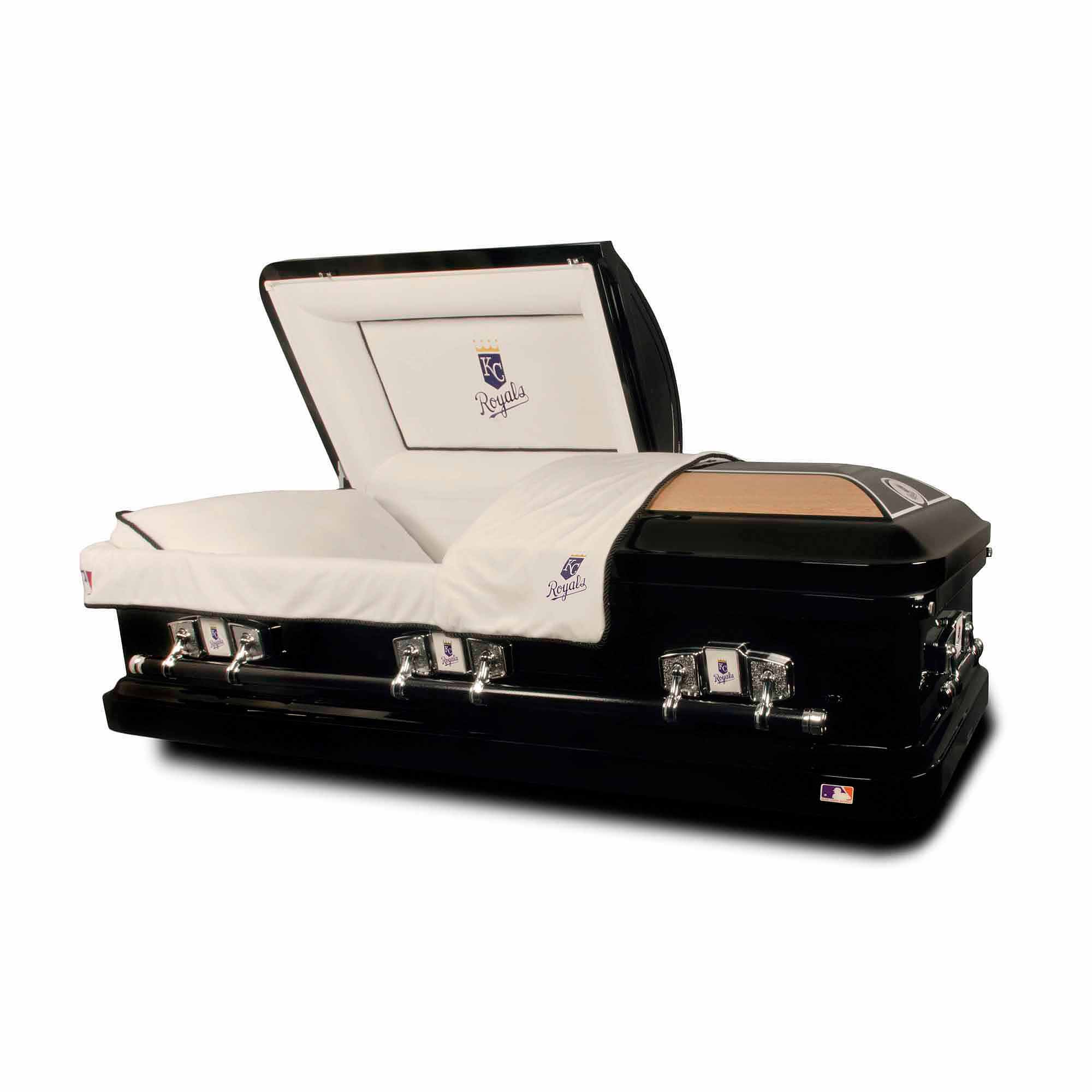 Official Major League Baseball Casket Kansas City Royals