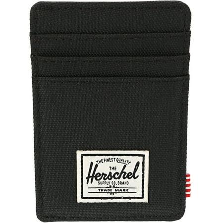 Herschel Supply Co Men's Raven Rfid Card Case Canvas Wallet -