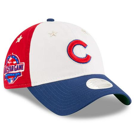 2db1706682129d Chicago Cubs New Era Women's 2018 MLB All-Star Game 9TWENTY Adjustable Hat  - White/Royal - OSFA - Walmart.com