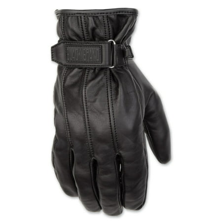 Harley Leather Gloves (Black Brand Men's  Men's Freeway Leather Gloves )