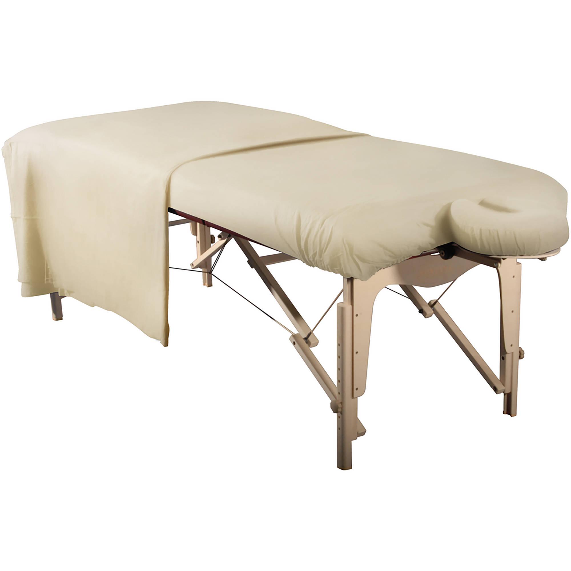 MT Massage Deluxe 3-in-1 Flannel Sheet Set