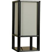 Mainstays Shelf Table Lamp, Black