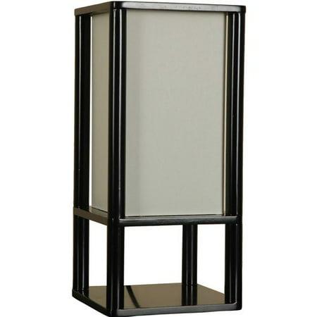 Mainstays Shelf Table Lamp Black Walmart Com
