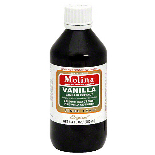 Molina Vanilla Extract, 8.4 fl oz, (Pack of 12)