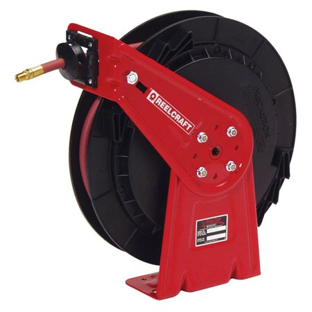 Reelcraft Spring Driven Air Water Hose Reel   35 Ft