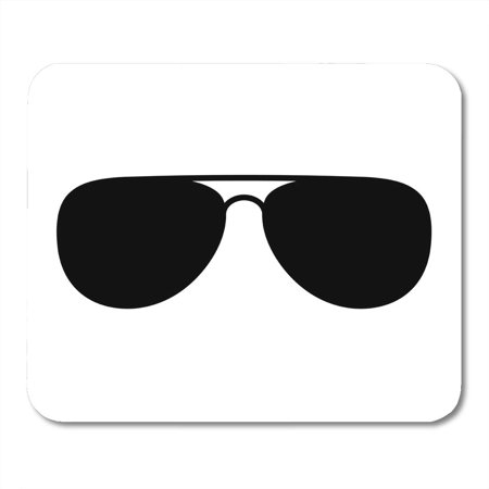 KDAGR Glasses Aviator Sunglasses Shades Protective Eyewear Flat for Apps and Websites Black Mousepad Mouse Pad Mouse Mat 9x10 (Cheap Glasses Websites)