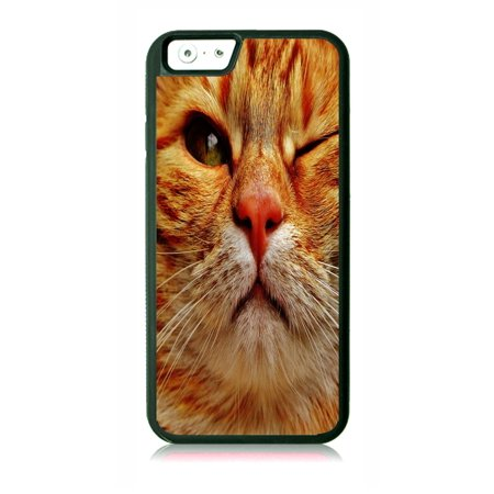 Winking Kitten Black Rubber Case for the Apple iPhone 6 / iPhone 6s - iPhone 6 Accessories - iPhone 6s Accessories Case Dimensions (case length:) iphone 6s 5.5 inch case - iphone 6 5.5 inch case ; Case Dimensions (for iPhone with the following size screen:) iphone 6 4.7 case - iphone 6s 4.7 case ; This Apple iPhone 6 Case -  iPhone 6s is made of a durable rubber. TPU slim iPhone 6 Thin Case - iPhone 6s Thin Phone Case ; Black appleiphone6 case - 6s iphone case ; Bumper style iphone six case - iphone six s case ; These apple iphone 6 accessories - apple iphone 6s accessories feature a vibrant and everlasting flat printed image design. Beautiful, protective, essential and fun apple iphone 6 case - iphone 6s iphone case ; iphone 6s kids case - apple iphone 6 kids case - iphone 6 case for girls - iphone 6s case for girls - iphone 6 case for boys - iphone 6s kids case boys - iphone six case for teens - iphone 6s accessories for women and men