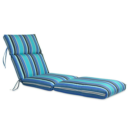 Comfort Classics 72 x 22 in. Sunbrella Channeled Chaise Lounge Cushion