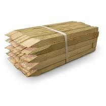 The Dirty Gardener 24 Inch Wooden Stakes ()