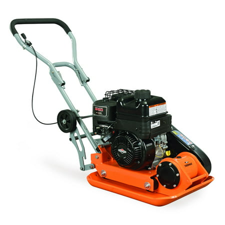 YARDMAX YC1390 3,000 lb. Compaction Force Plate Compactor Briggs and Stratton XR950 6.5HP/208cc - Stone Plate Compactor