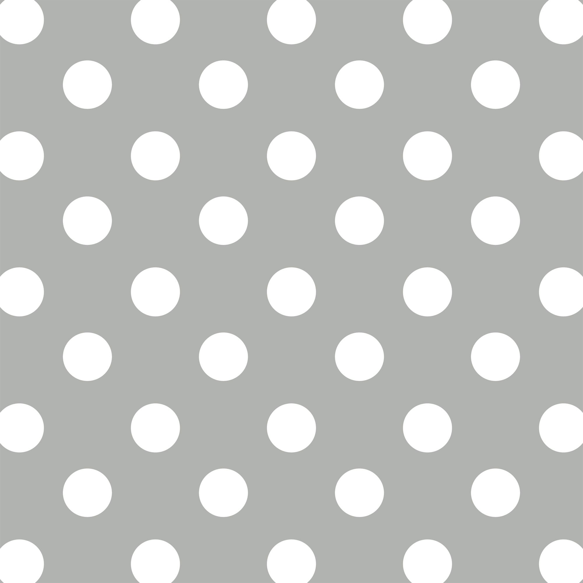 "David Textiles Fleece 36"" x 60"" Polka Dot Grey Anti-Pill Fabric, 1 Each"