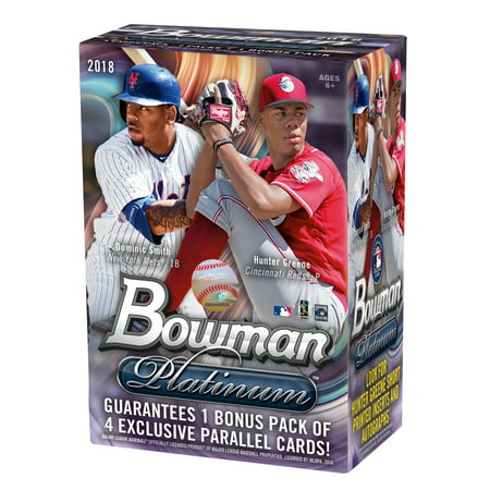 18 Topps Bowman Platinum MLB Baseball Value Box Trading Cards