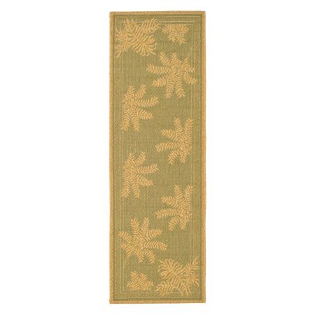 - Safavieh Courtyard CY6683 Indoor/Outdoor Area Rug Green/Natural