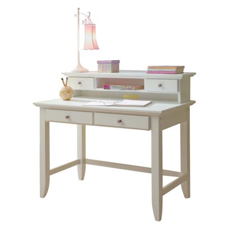 Peachy Naples White Student Desk And Hutch Home Interior And Landscaping Analalmasignezvosmurscom