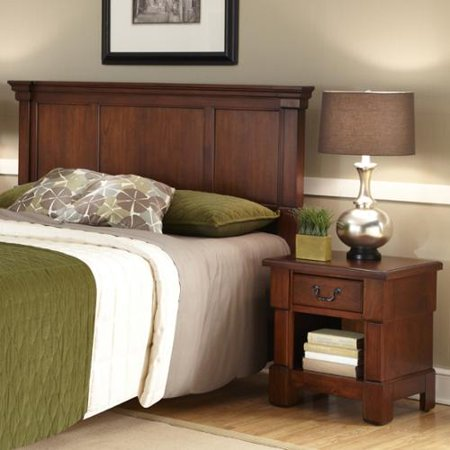 Home styles the aspen collection rustic cherry queen full Aspen home bedroom furniture reviews