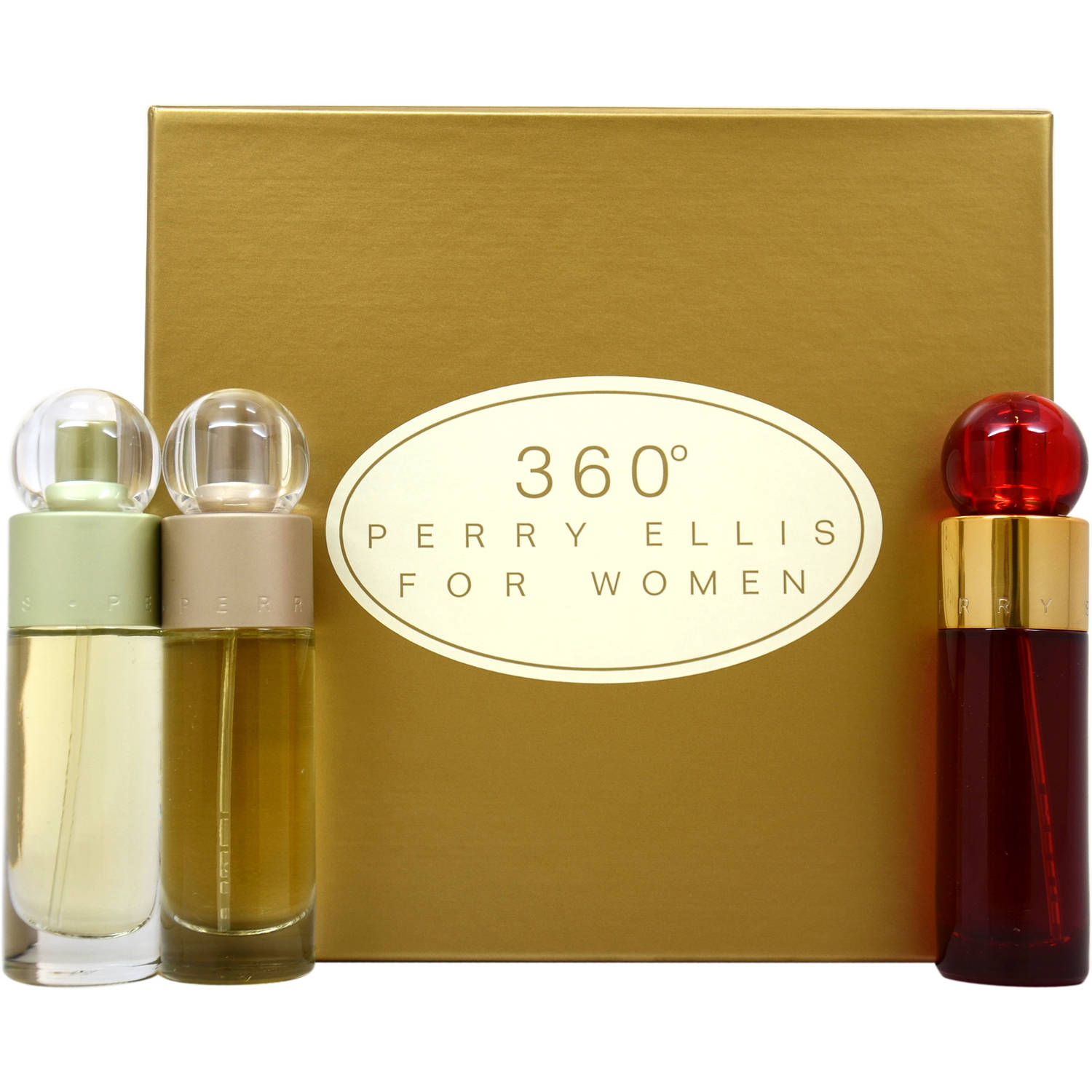 Perry Ellis 360 for Women Gift Set, 3 pc