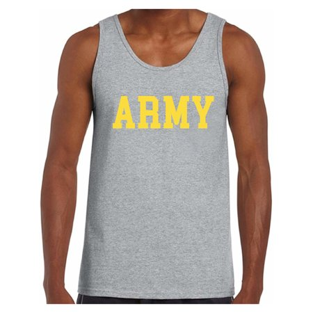 Awkward Styles Army Tank Top for Men Military Sleeveless Shirt Men's Army Tank Workout Clothes Army Training Shirt Army Gifts for -