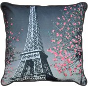 Formula Paris Printed Decorative Pillow,