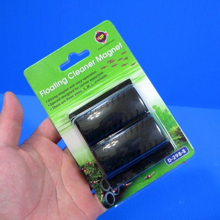 "Floating Cleaner Magnet ""S""- algae brush glass magnetic"