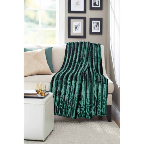 "Better Homes and Gardens 50"" x 60"" Throw, Ikat Chevron"