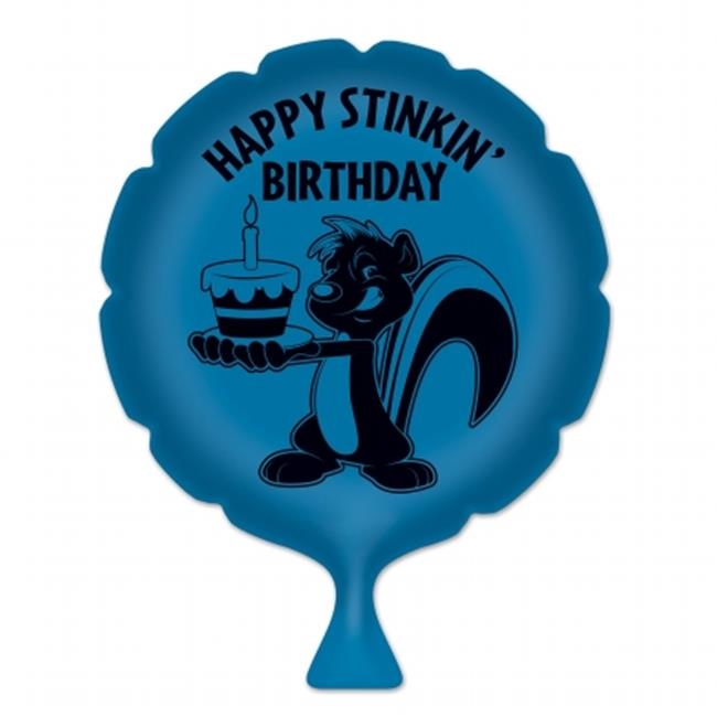 Beistle Company 54264 Happy Stinkin Birthday Whoopee Cushion - Pack of 6