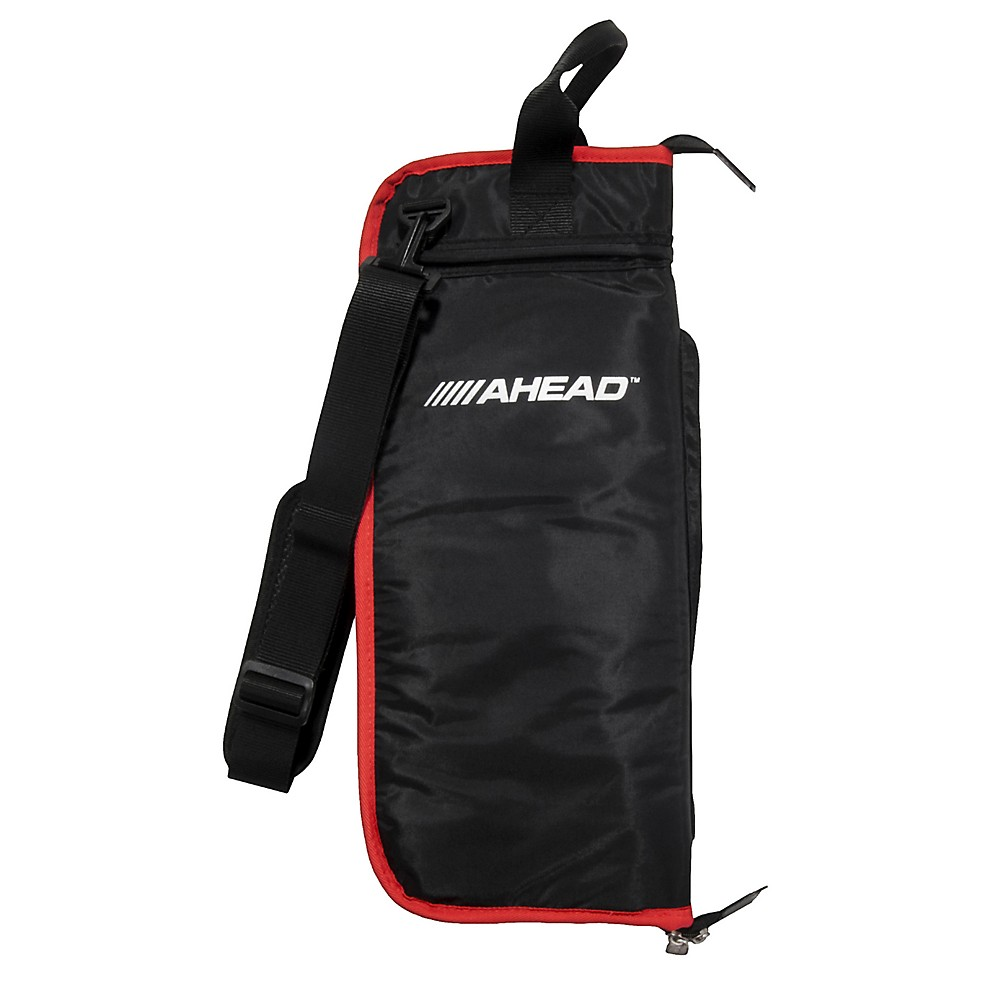 Image of Ahead Deluxe Stick Bag Black with Red
