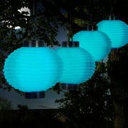 Paradise Lighting Solar 10 Piece Fabric Lantern String