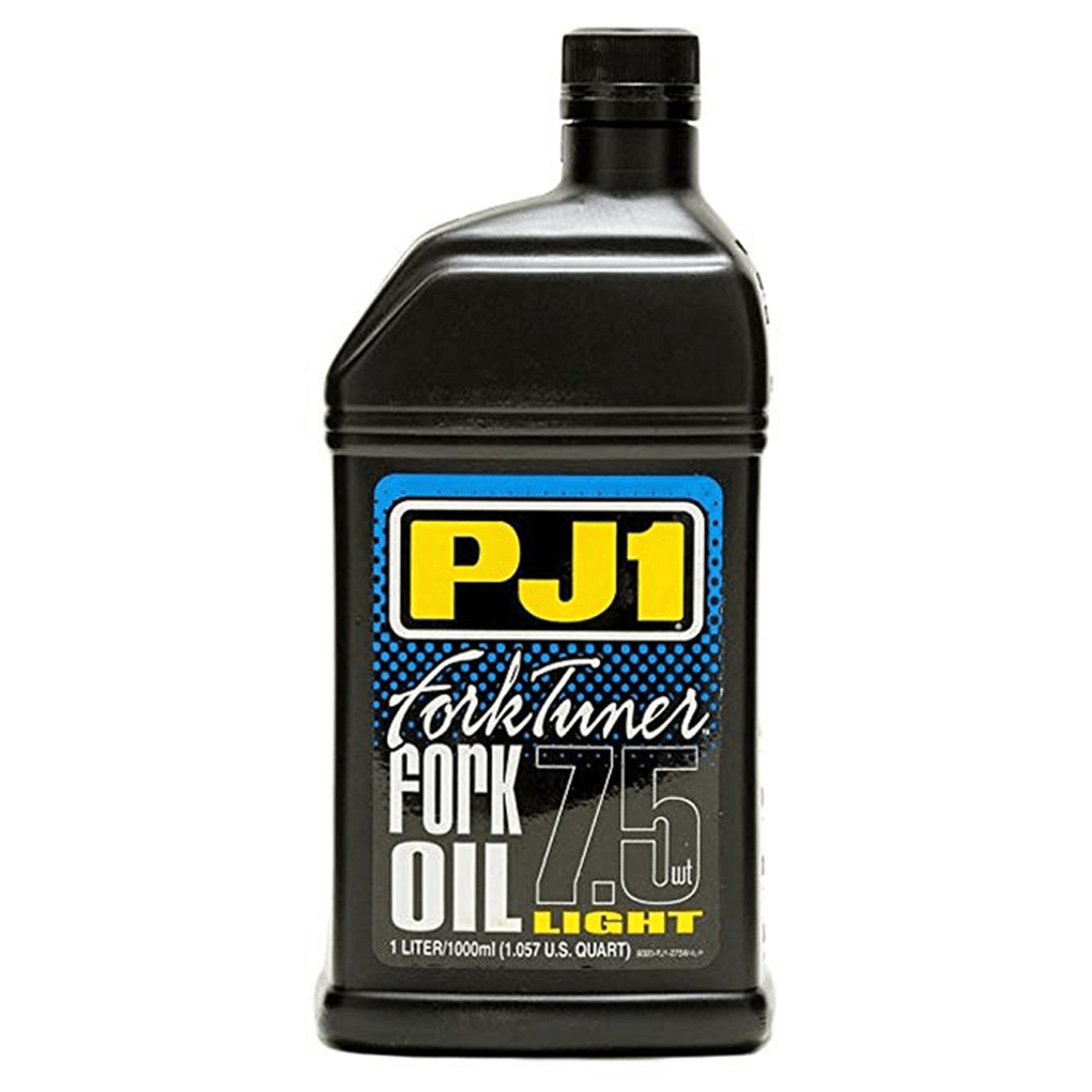 PJ1 FORK TUNER OIL 7.5 WT.-1 LITER
