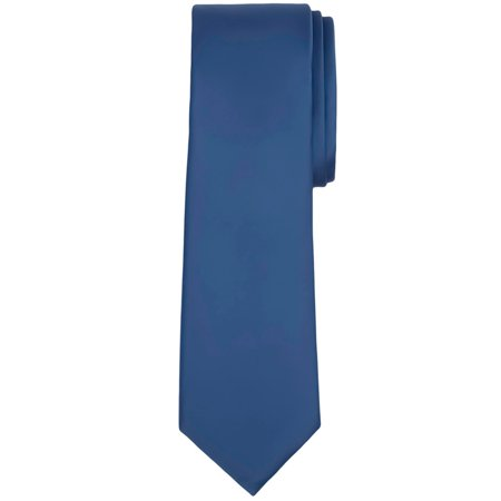 Jacob Alexander Solid Color Men's Regular Tie ()
