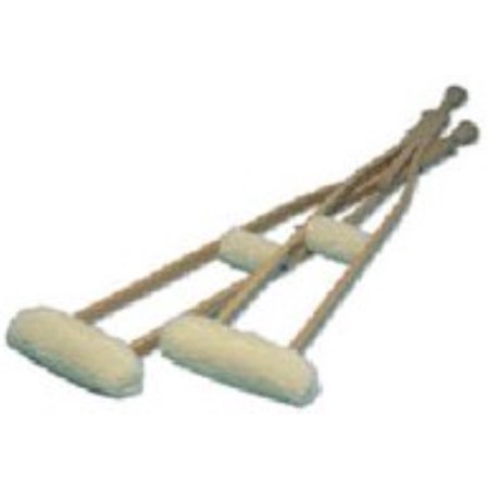 Hermell Crutch Sheepskin Covers 1 pair (Pack of 2)