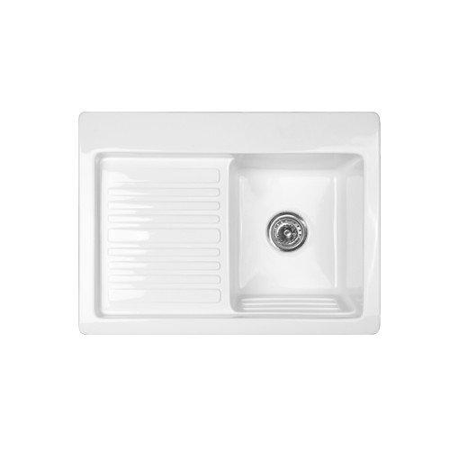 CorStone Advantage Series Edgewood 30'' x 22'' Self Rimming Laundry Sink