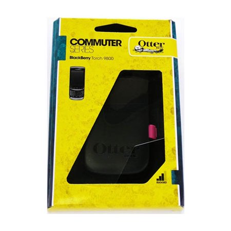 5 Pack -Otterbox - Commuter Case for BlackBerry Torch 9800 Cell Phones - Hot Pink/Black - image 1 of 1