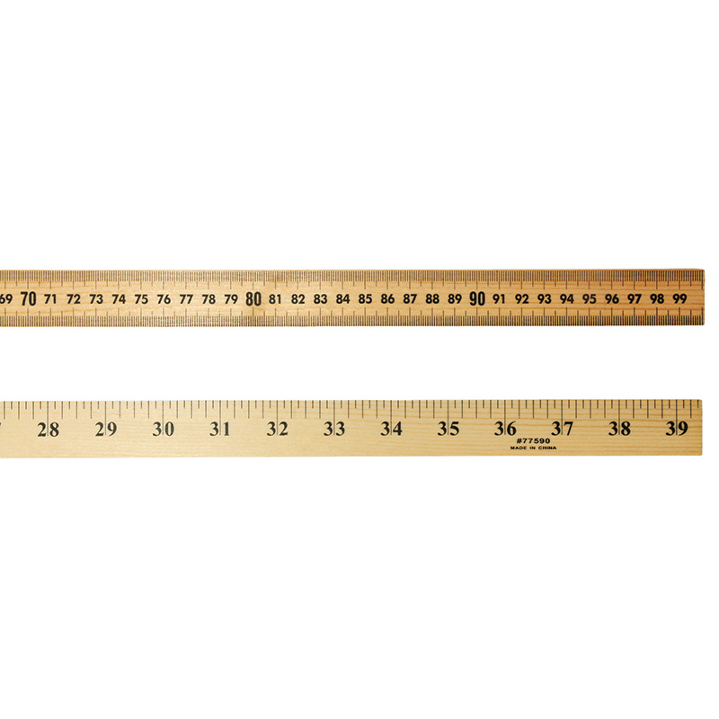 (6 Ea) Meter Stick With Hole For Storage
