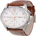 Hamilton Jazzmaster Maestro White Dial Leather Strap Mens Watch