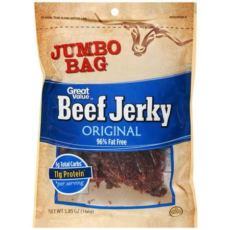 Great Value Original Beef Jerky, 5.85 oz