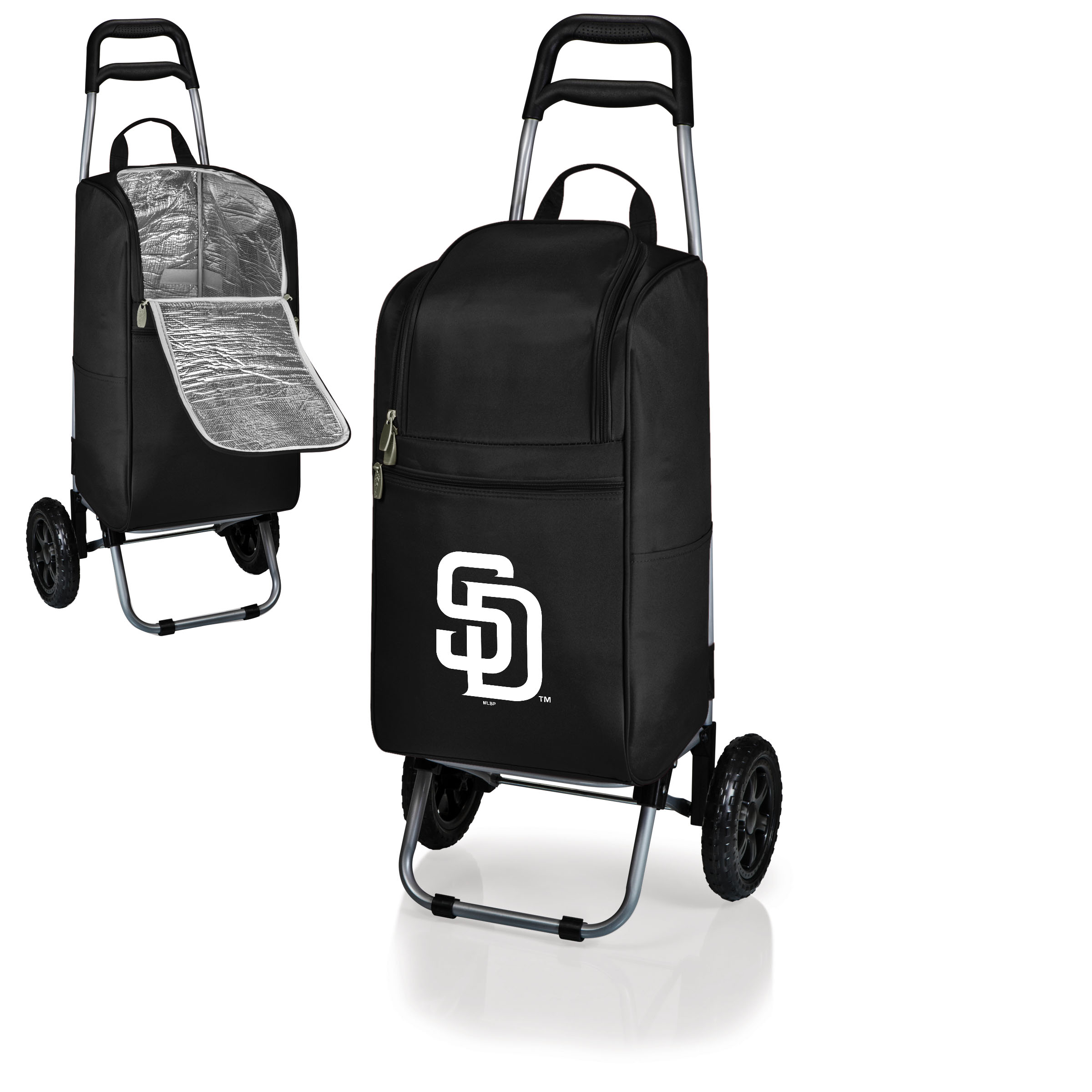 San Diego Padres Cart Cooler - Black - No Size