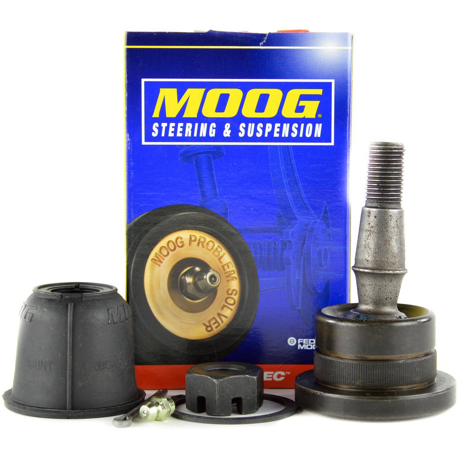 Moog K500007 Ball Joint OE Replacement, Front, Driver or Passenger Side, Lower