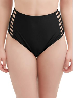 915d6fa7bb544 Product Image Women's Rosey Romance High Waist Swimsuit Bottom