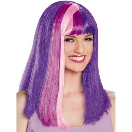 Twilight Sparkle Wig (TWILIGHT SPARKLE ADULT WIG)