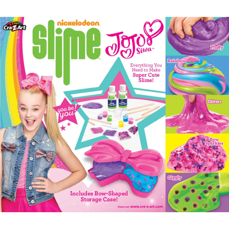 Nickelodeon Jojo Siwa Super Satisfying Slime Kit by Cra-Z-Art (Slide Maker)
