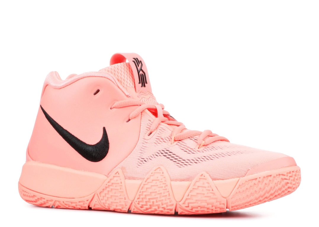 kyrie 4 pink and black
