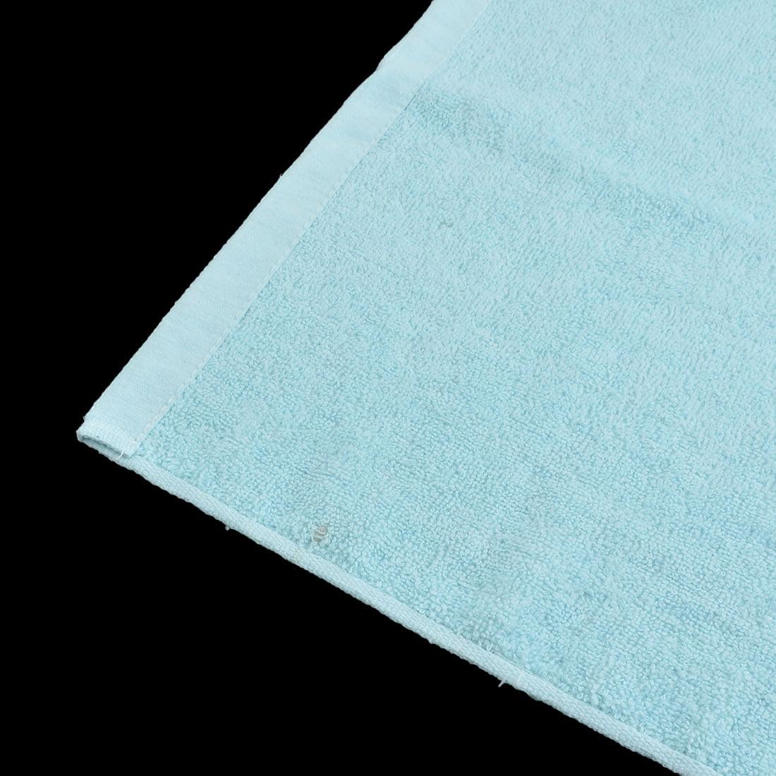 KUTTO Authorized Home Hotel Cotton Blends Dry Bath Towel Sky Blue 140 x 70cm - image 1 de 4