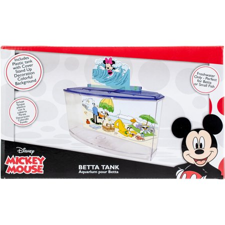 - Disney Mickey Mouse Freshwater Betta Tank (Best Freshwater Aquarium Setup)