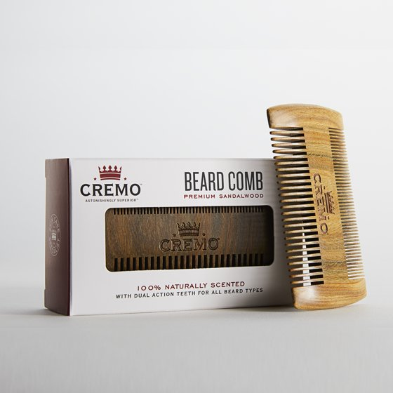 Cremo Beard Grooming Comb Walmart