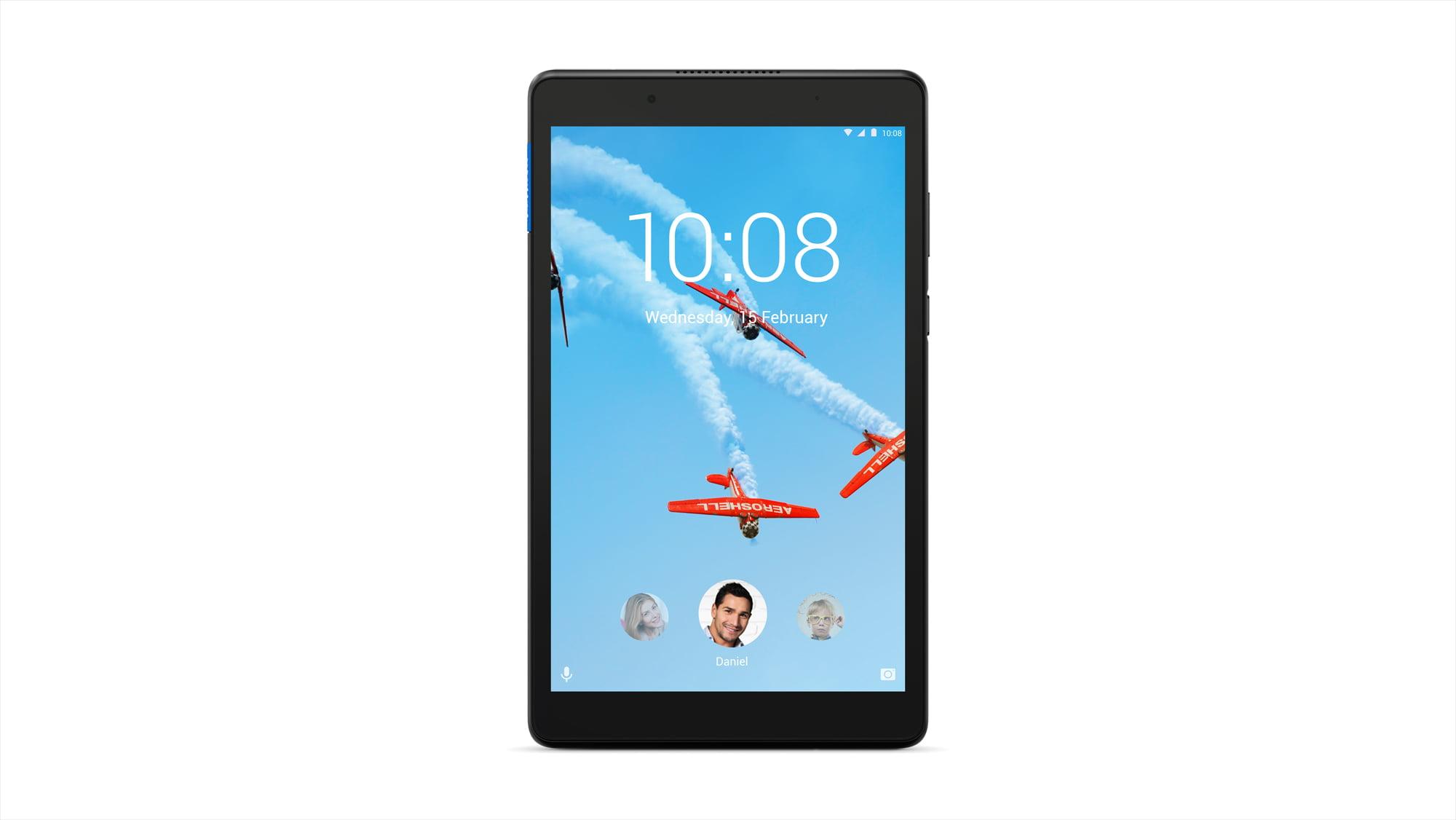 """Lenovo Tab E8, 8"""" Android Tablet, MediaTek Processor, 1.3GHz, 16GB Storage, Slate Black"""