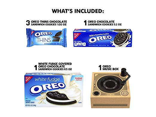 Cookie Record Collectible Holiday Gift Oreo Music Box Player
