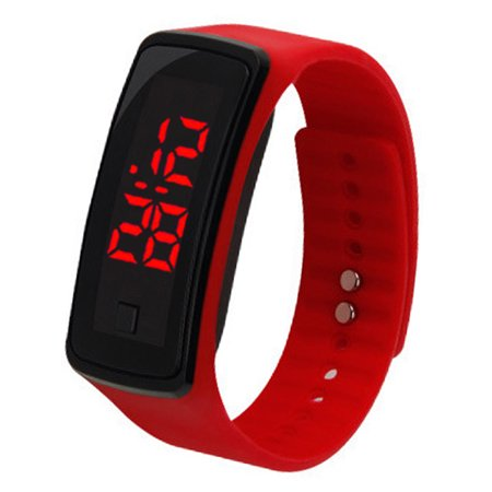 c LED Bracelet Silicone Smart Watch Children Wrist Digital Watches (Wrist Electronic Watch)