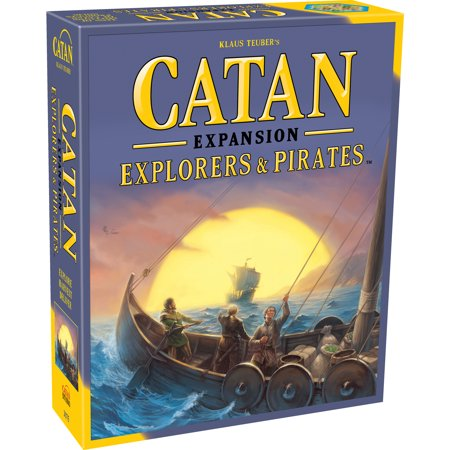 Catan Explorers & Pirates Strategy Board Game