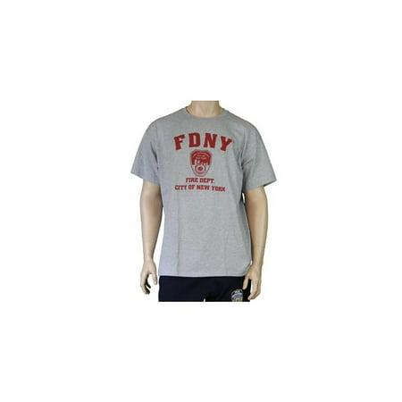 d03109b1 FDNY - X-Large 9/11 Official Licensed Memorial Tee Short Sleeve T-Shirt  Gray - Walmart.com